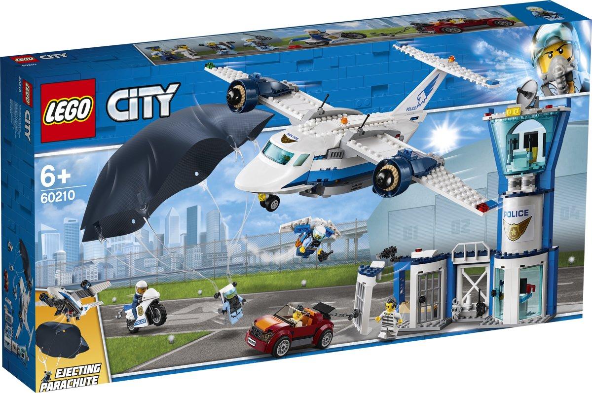 LEGO City Luchtpolitie Luchtmachtbasis - 60210