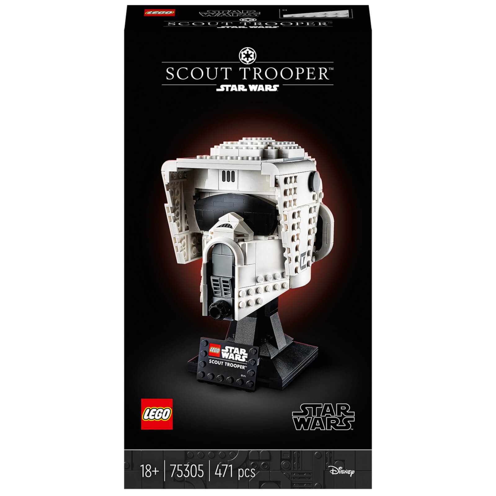 LEGO Star Wars: Scout Trooper Helmet Collectable Model (75305)
