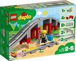LEGO DUPLO treinbrug en rails 10872