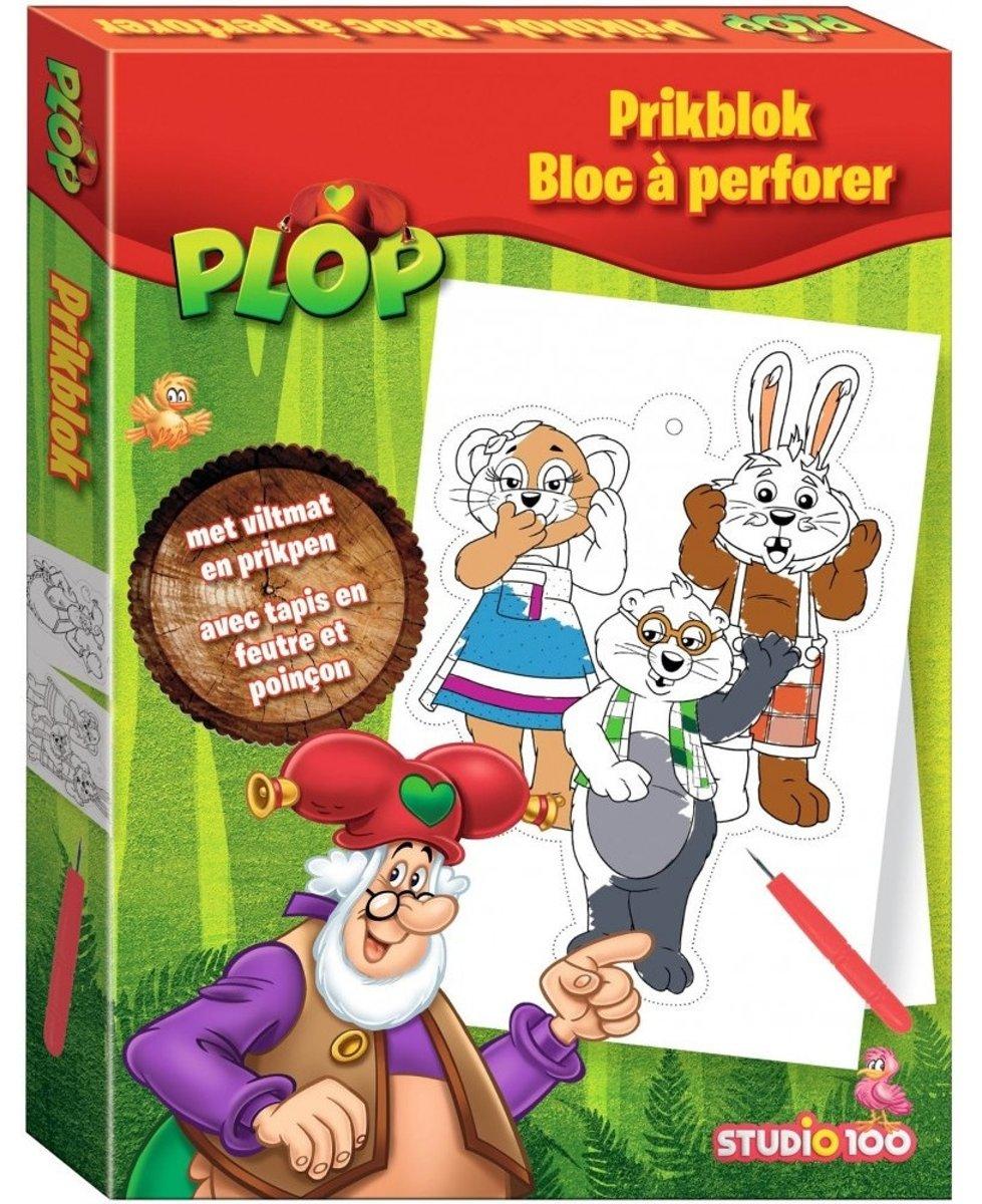 Studio 100 Kabouter Plop en De Peppers Prikblok - 16 tekeningen