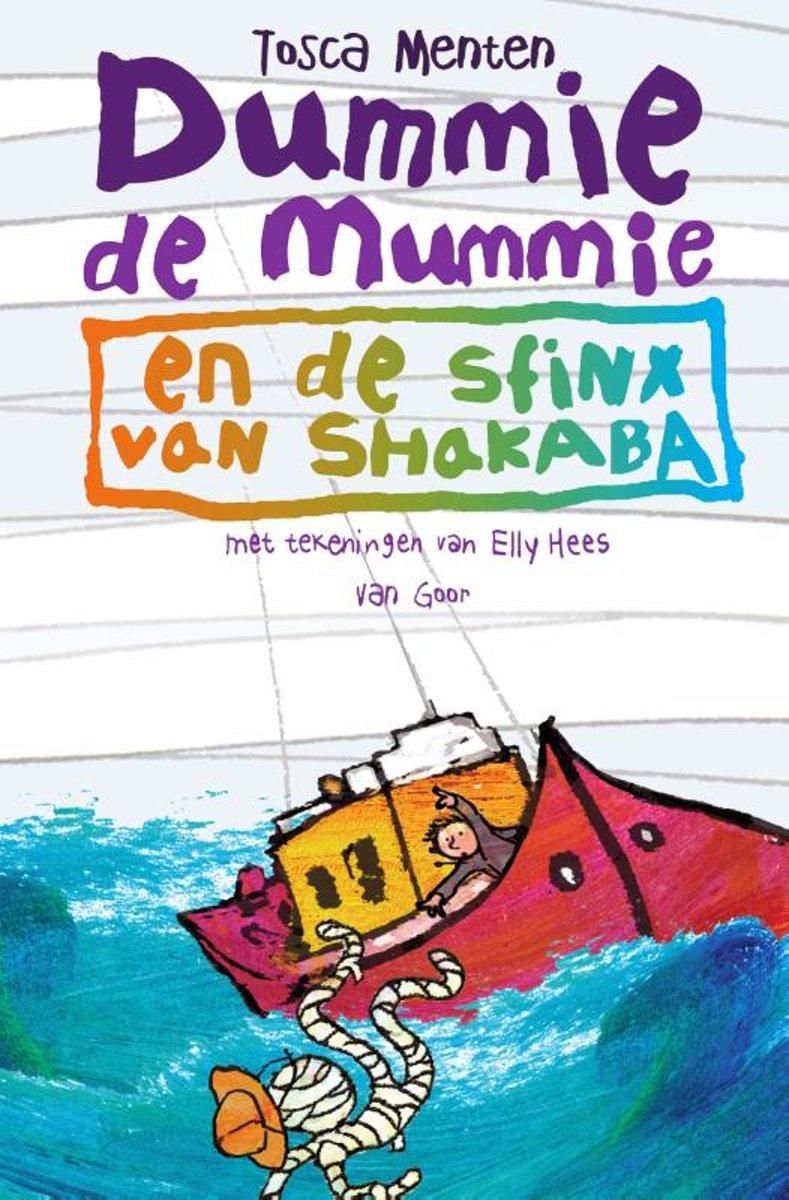 Dummie de mummie en de sfinx van Shakaba - Dummie