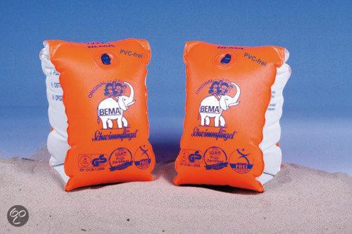 Bema Zwemvliezen - Oranje - 6 tot 12 jaar
