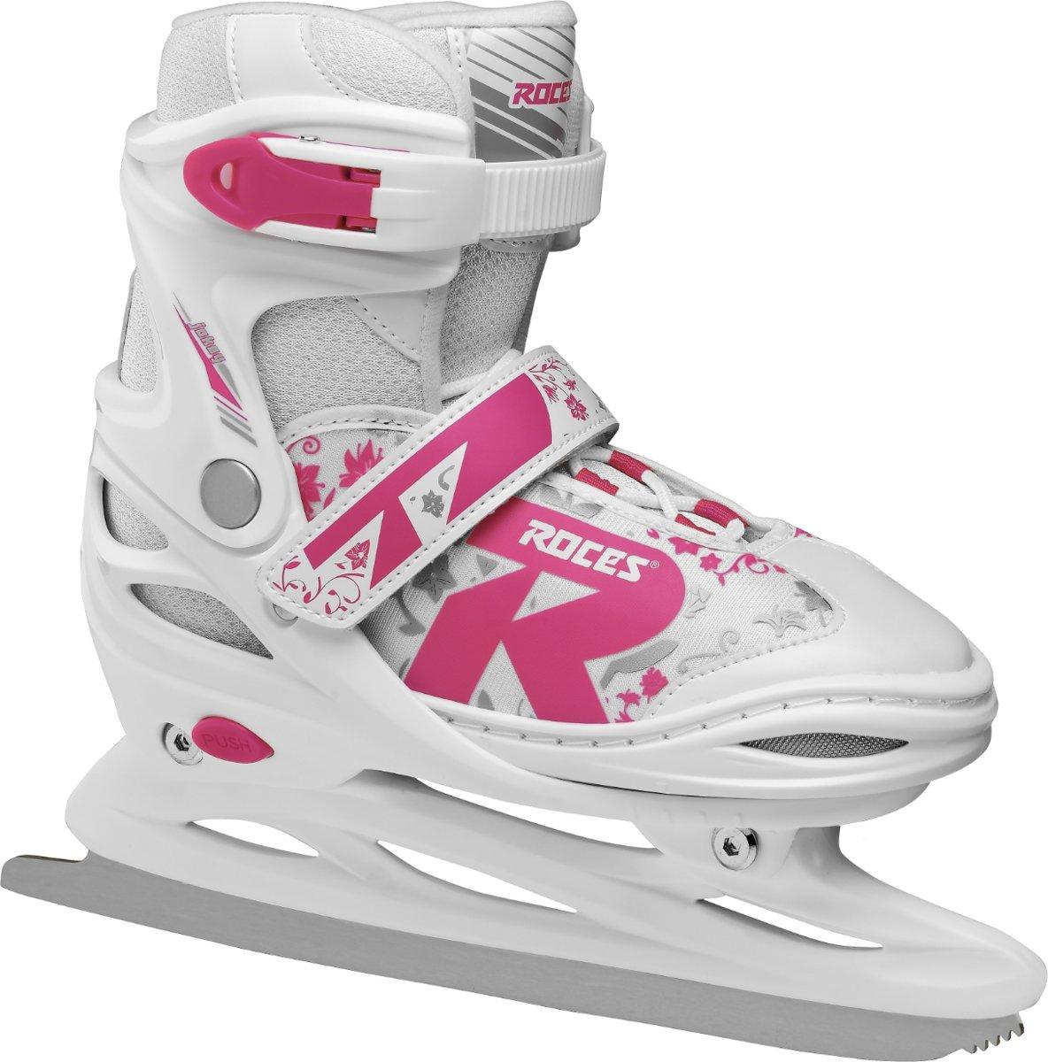 Roces ijshockeyschaatsen Jokey 2.0 meisjes wit maat 26-29