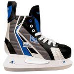 Nijdam ijshockeyschaatsen maat 45 polyester 3386-ZBZ-45