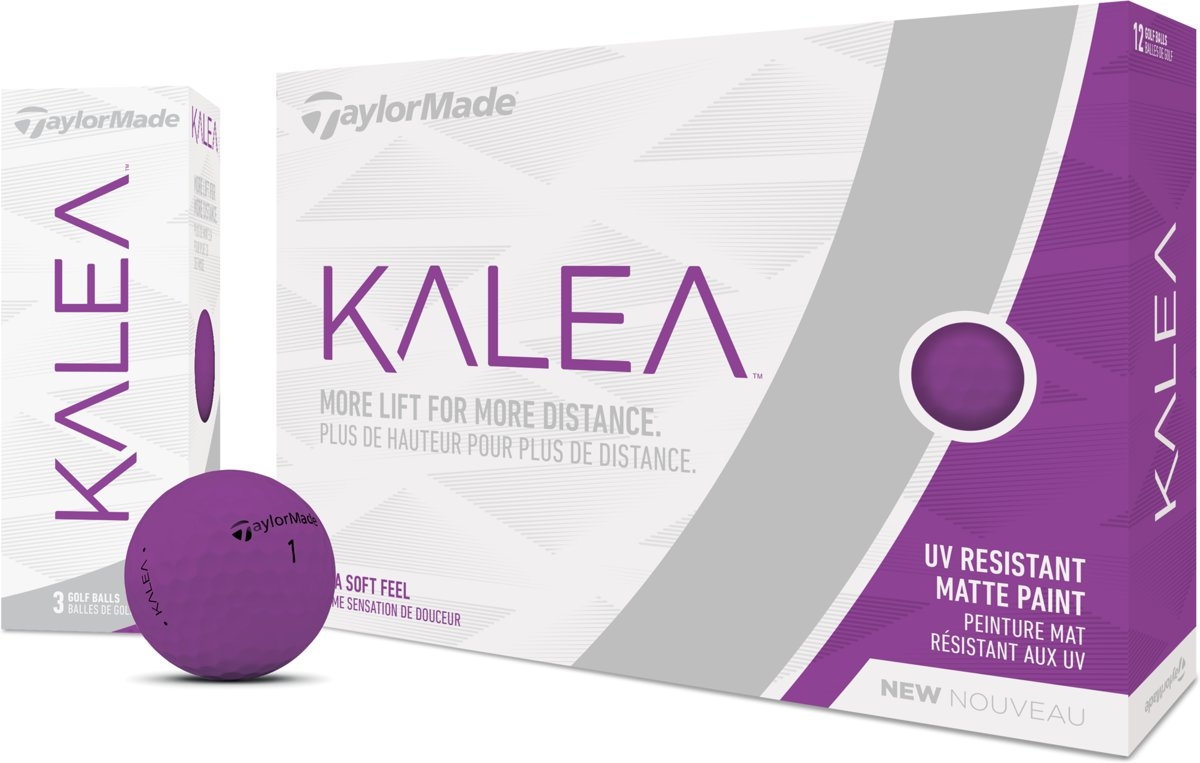 Taylormade Kalea Dames golfballen matte paars