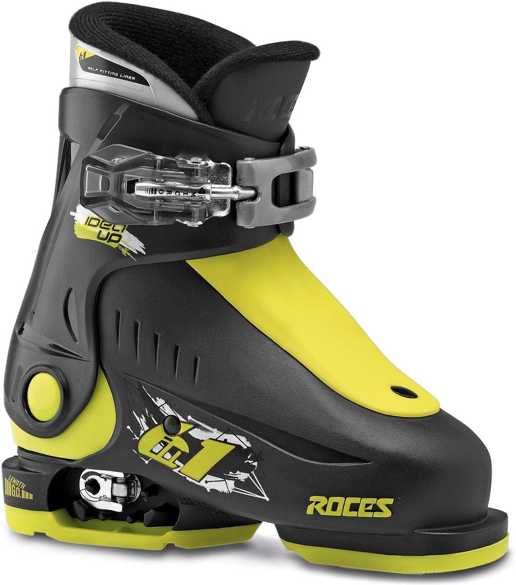 Roces Skischoenen Idea Up Junior Zwart/lime Maat 25-29