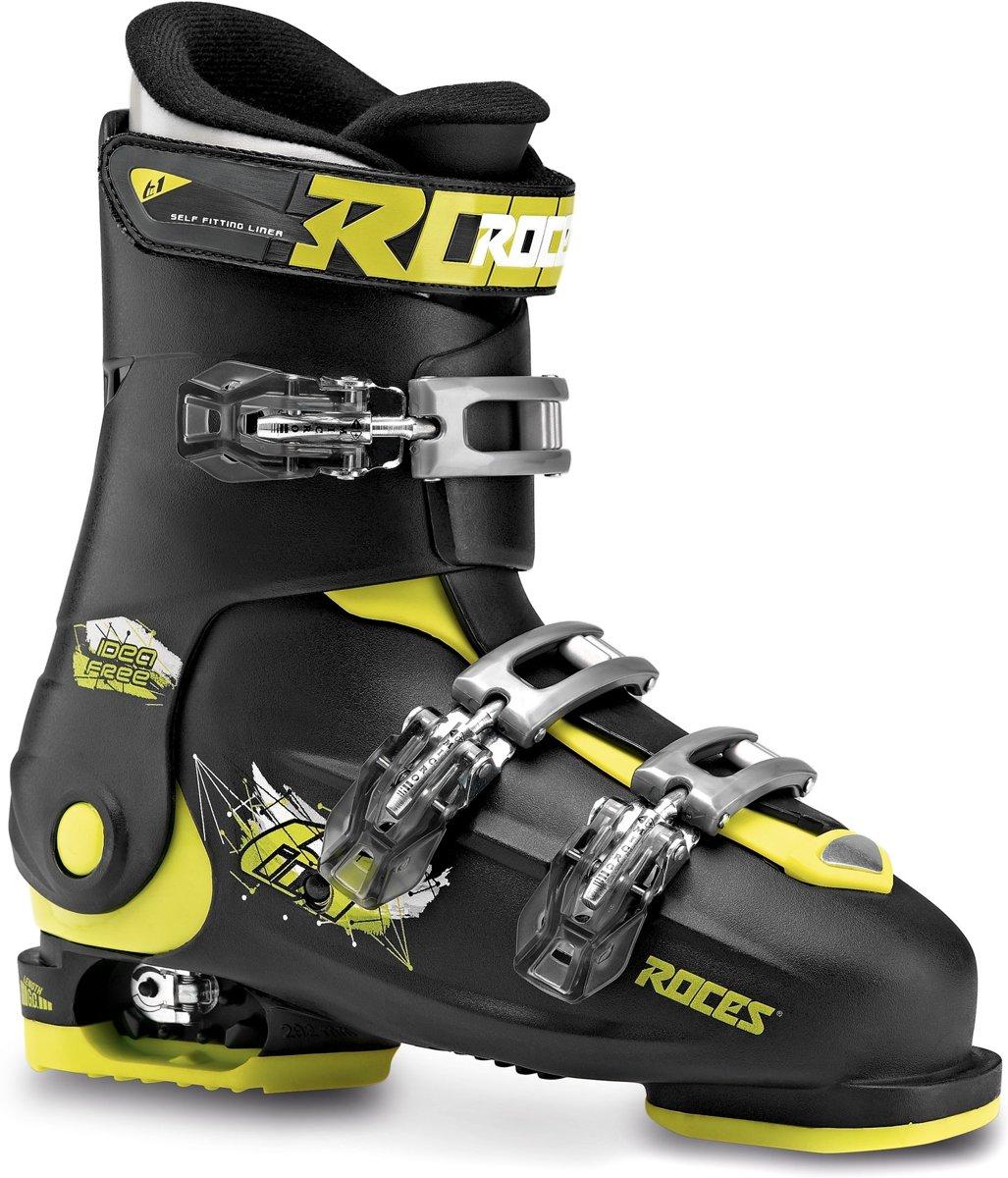 Roces Skischoenen Idea Free Junior Zwart/lime Maat 36-40