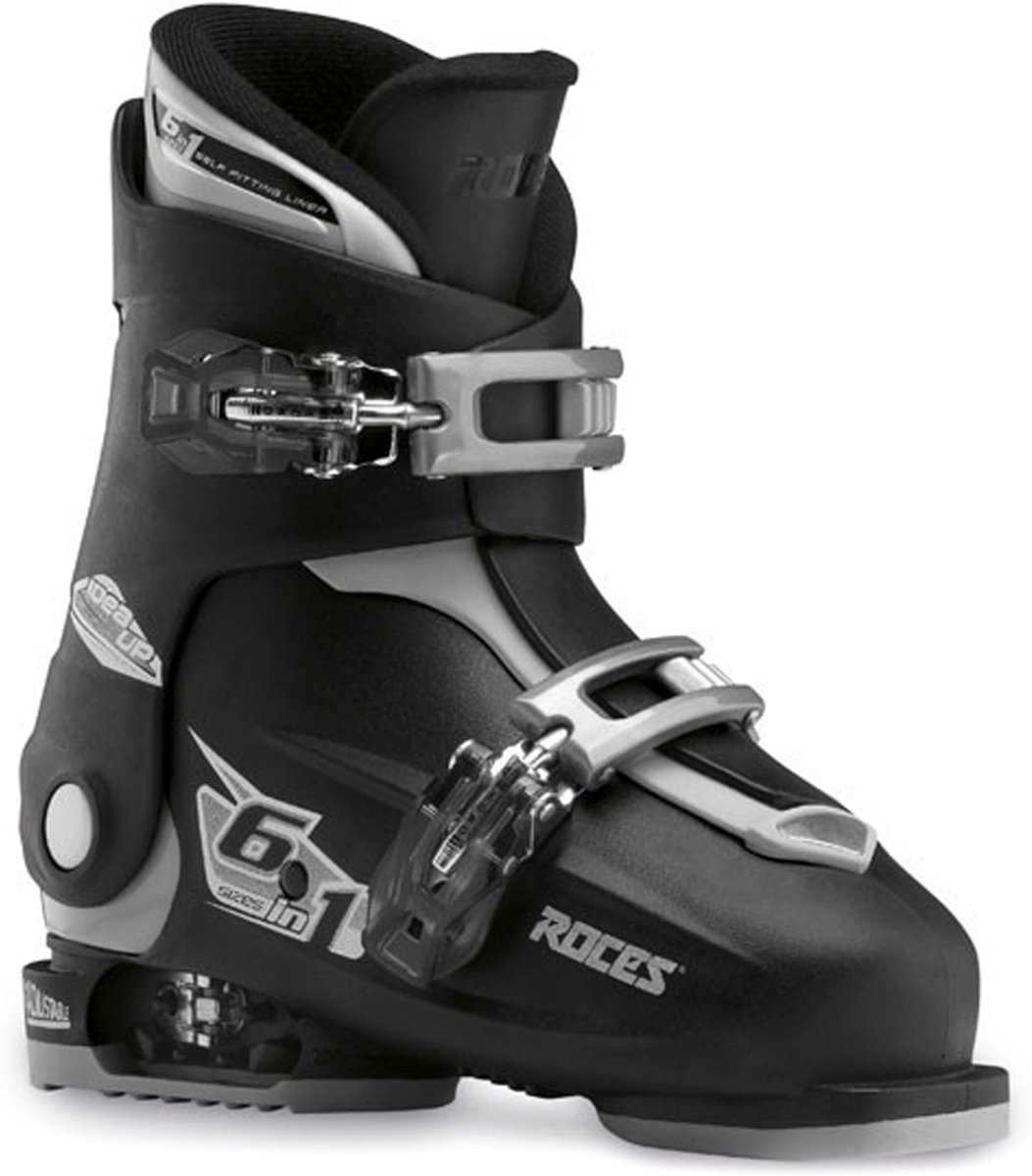 Roces Skischoenen Idea Up Junior Zwart/zilver Maat 30-35