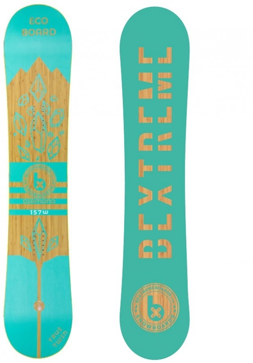 BeXtreme Diamond Snowboard - Freestyle - 157 cm (wide)
