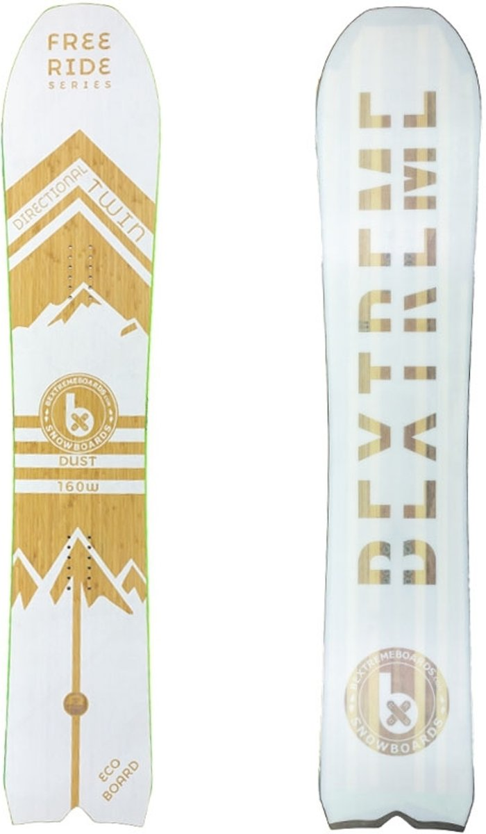 BeXtreme Dust Snowboard - Freeride - 160 cm (wide)