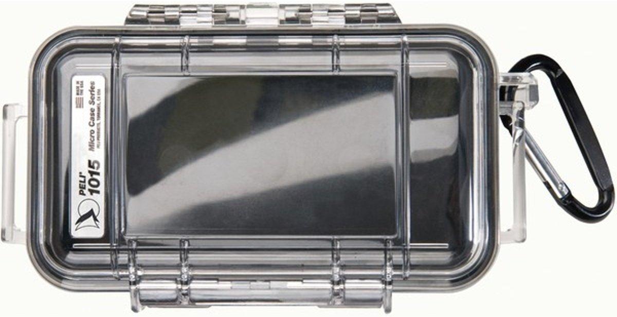 Peli Case 1015 Micro Zwart/Transparant