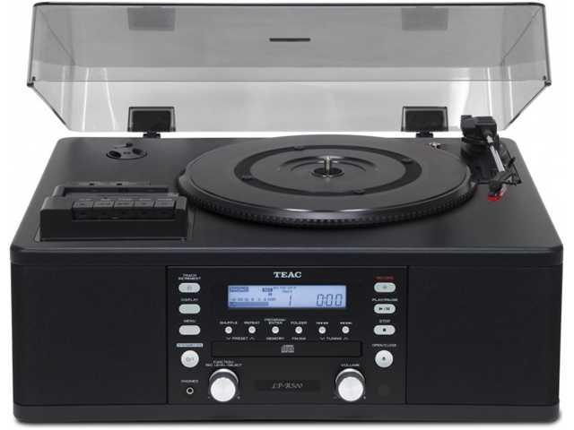 LP-R500A B black