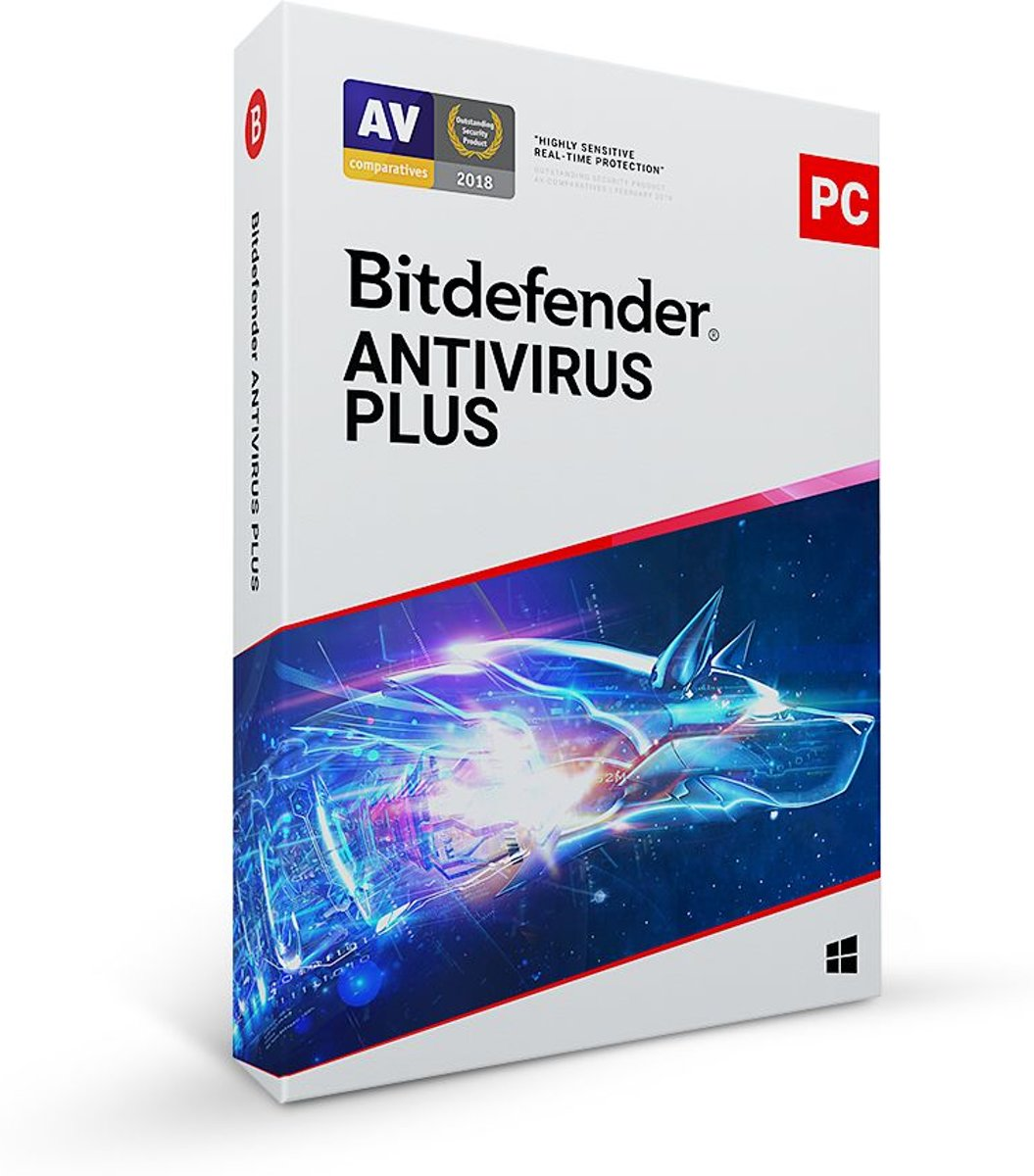 Bitdefender Antivirus Plus 2020 - 3 Apparaten - 2 Jaar - Nederlands - Windows Download