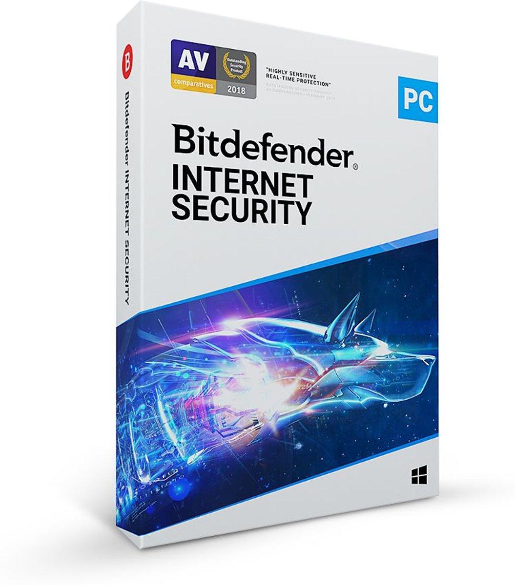 Bitdefender Internet Security 2020 - 5 Apparaten - 1 Jaar - Nederlands - Windows Download