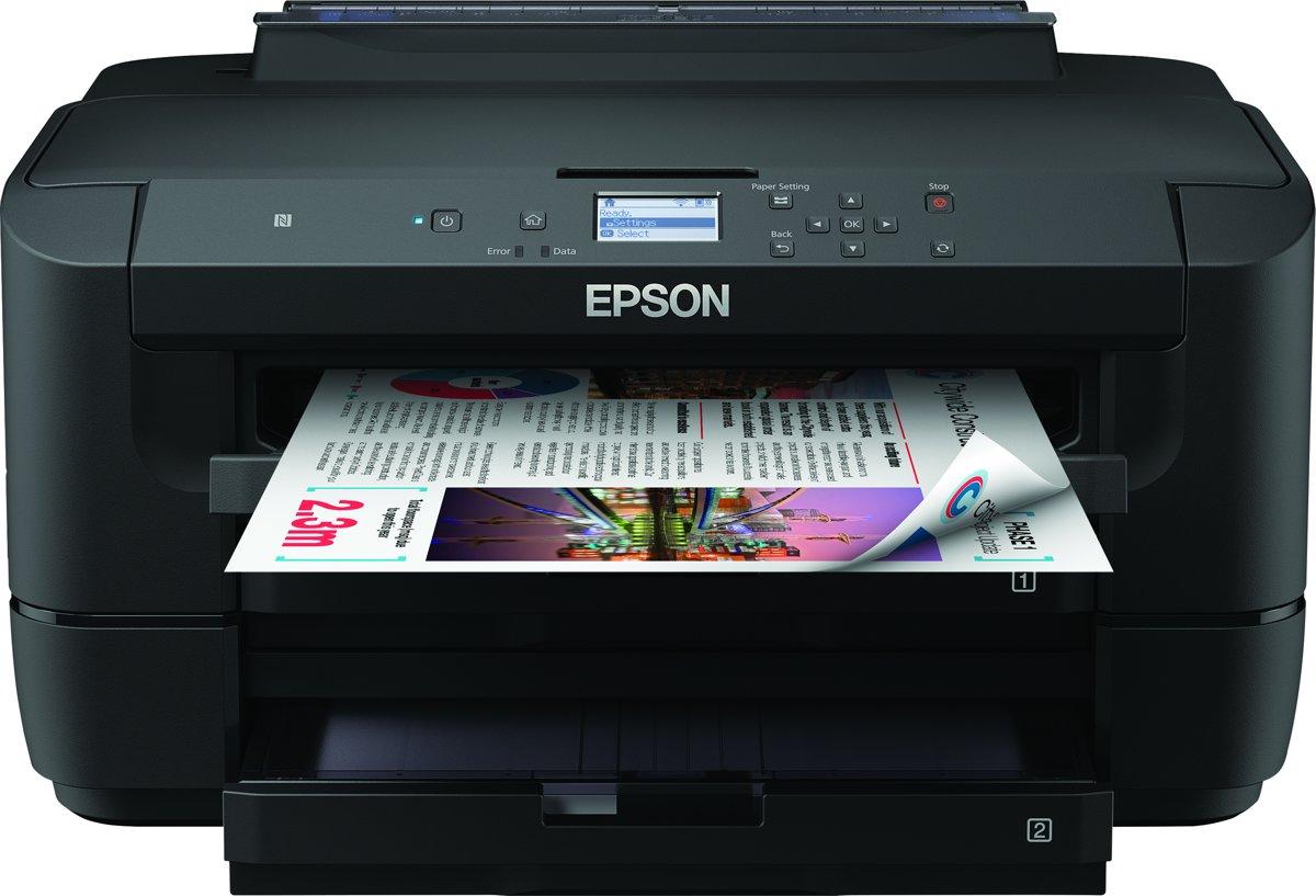 Epson WorkForce WF-7210DTW - printer - kleur - inktjet (C11CG38402)