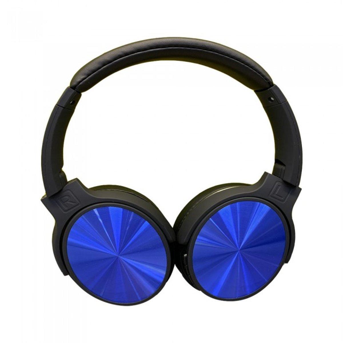 V-tac VT-6322 Bluetooth draadloze koptelefoon - draaibaar - blauw