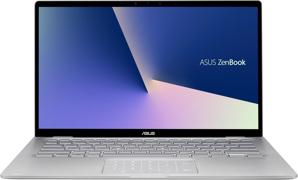 ASUS ZenBook Flip 14 UM462DA-AI024T Grijs Hybride (2-in-1) 35,6 cm (14'') 1920 x 1080 Pixels Touchscreen AMD Ryzen 7 3700U 8 GB DDR4-SDRAM 512 GB SSD