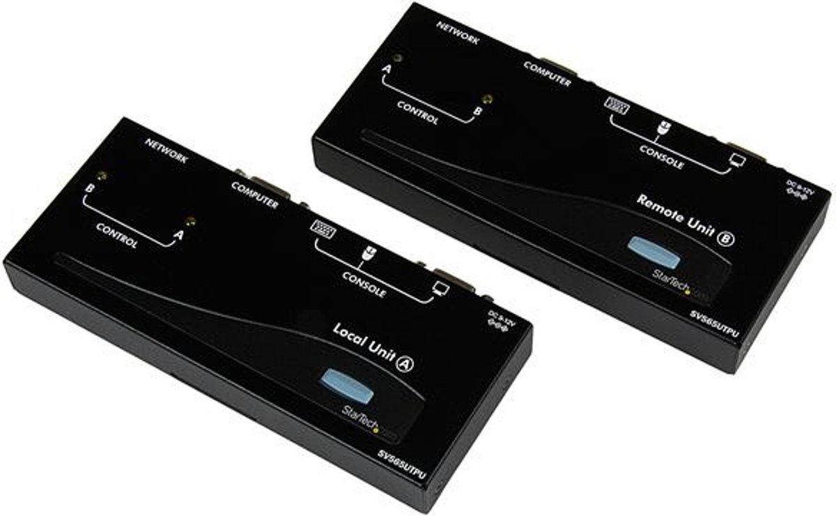 StarTech.com USB/VGA Cat5 UTP KVM Verlengsysteem KVM-switch