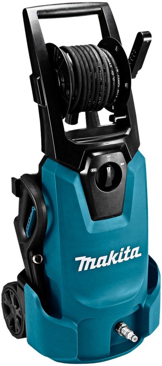 Makita HW1300 Staand Electrisch 420L/u 1800W Zwart, Blauw hogedrukreiniger