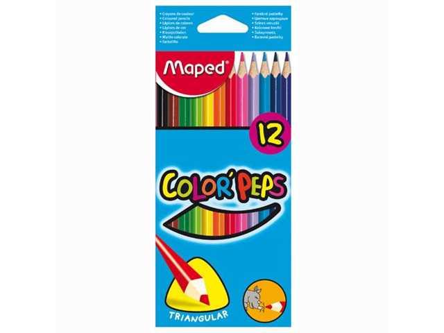 Color Peps Kleurpotloden Assorti 12 Stuks