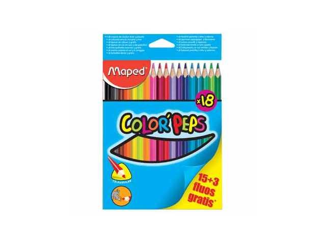 Kleurpotloden ColorPeps Assorti