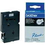 Brother TC-291 Labeltape Tapekleur: Wit Tekstkleur:Zwart