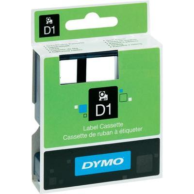 DYMO 45012 Labeltape Tapekleur: Transparant Tekstkleur:Rood