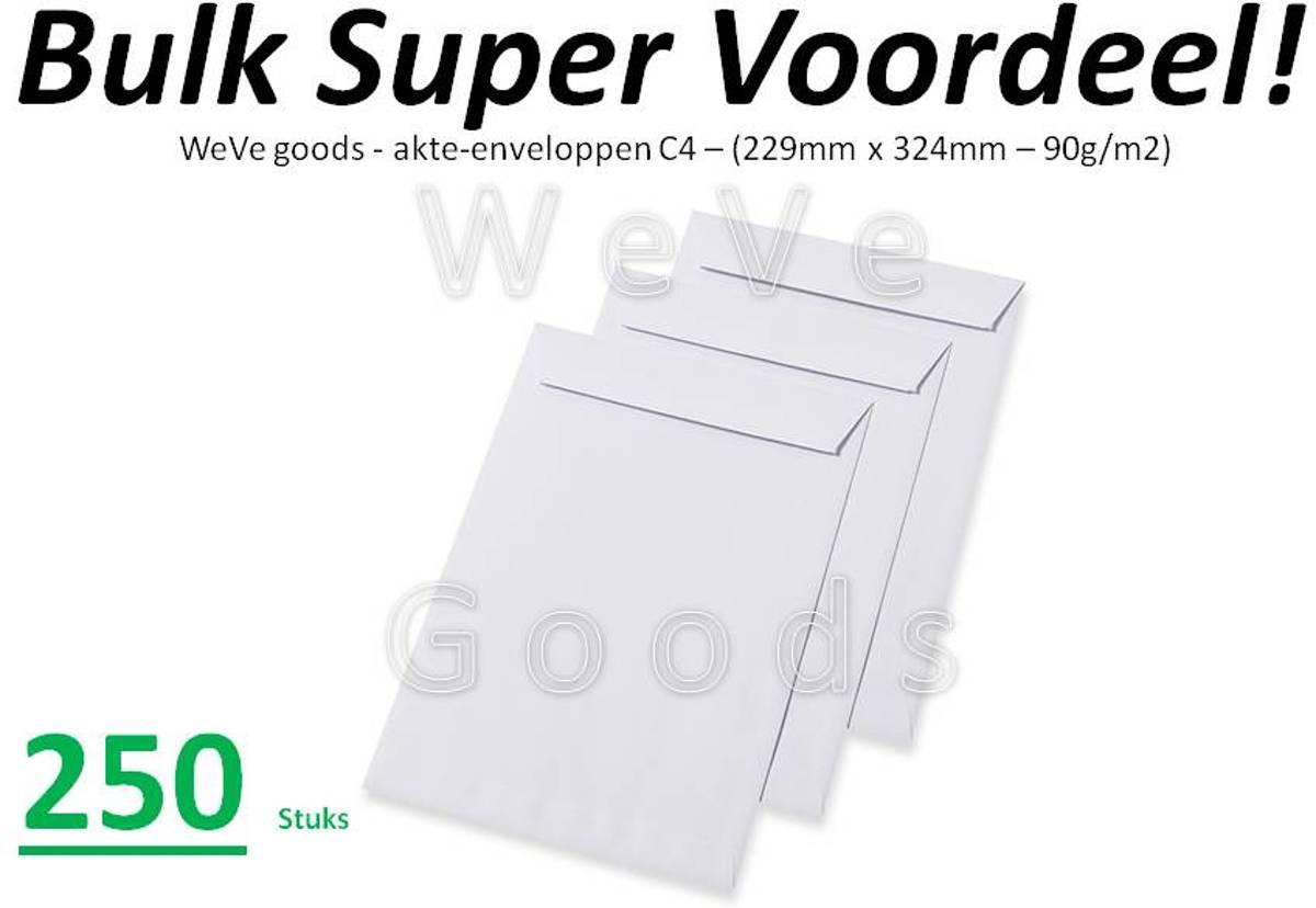 Enveloppen Zonder Venster Kleefstrip 90 g/m? 324 x 229 mm C4 250 Stuks