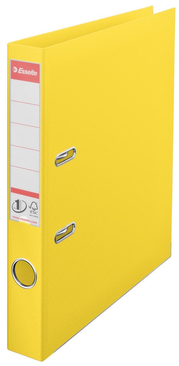 Esselte Ordner Power N? 1 Vivida ft A4, rug van 5 cm, geel