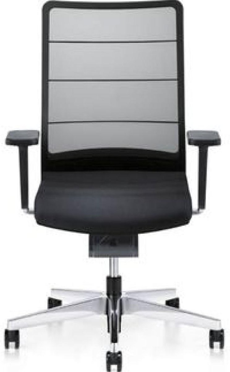 Bureaustoel Interstuhl Airpad 3C42 4D Armleggers Netbespanning Zwart
