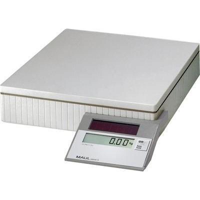 Pakketweegschaal Maul MAULparcel S 50 Weegbereik (max.) 50 kg Resolutie 10 g, 50 g Werkt op zonne-energie Grijs
