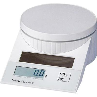 Brievenweegschaal Maul MAULtronic S 5000 Weegbereik (max.) 5 kg Resolutie 2 g, 5 g Wit