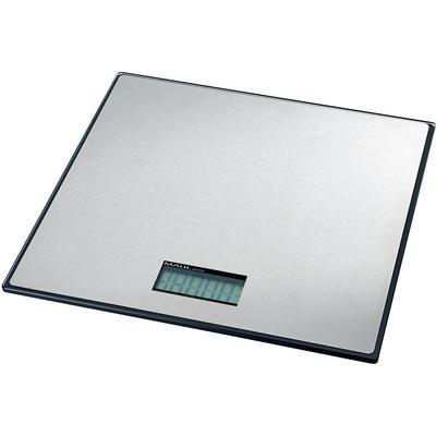 Pakketweegschaal Maul MAULglobal Weegbereik (max.) 50 kg Resolutie 50 g Werkt op batterijen Zilver