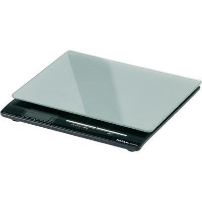 Brievenweegschaal Maul Maulsquare 5000 Weegbereik (max.) 5 kg Resolutie 1 g Werkt op batterijen Zilver