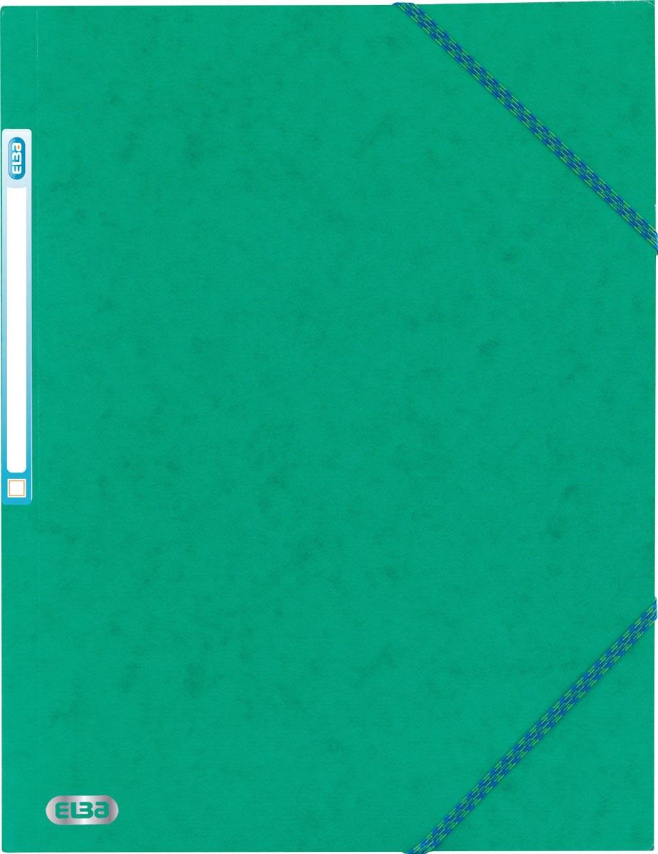 Elba elastomap Top File Assorti Tradition, blauw, oranje, geel, zwart, rood en groen