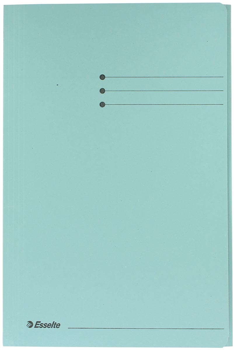 Esselte dossiermap blauw, ft folio