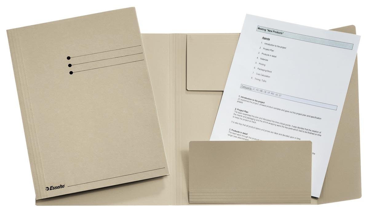 Esselte dossiermap grijs, ft folio