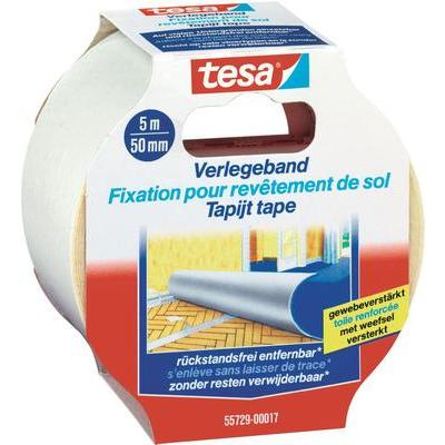 TESA 55729 tesa bevestigingstape (l x b) 5 m x 50 mm Transparant Inhoud: 1 rollen