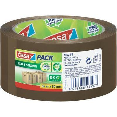 TESA 58154 tesapack Eco & Strong (l x b) 66 m x 50 mm Bruin Polypropyleen (PP) Inhoud: 1 rollen