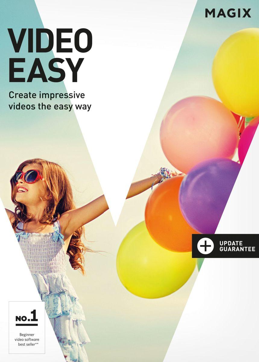 MAGIX Video Easy - Nederlands / Frans / Engels - Windows Download