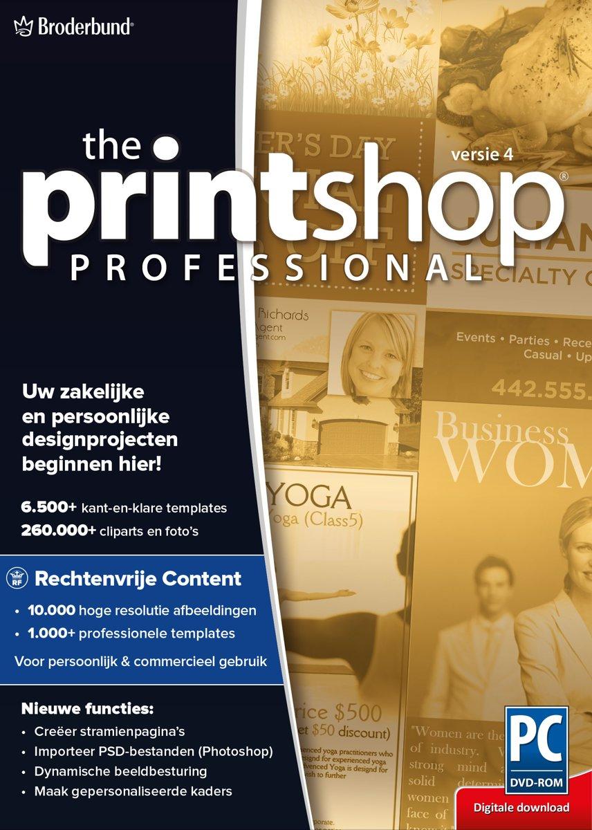 The Print Shop 4.0 Professional