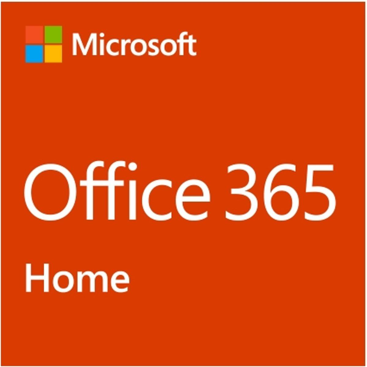 Microsoft Office 365 Home 1 jaar Frans