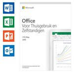 Microsoft Office 2019 Home & Business - Eenmalige aankoop (code in doosje)