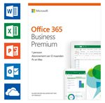Microsoft Office 365 Business Premium - 1 jaar abonnement (code in doosje)