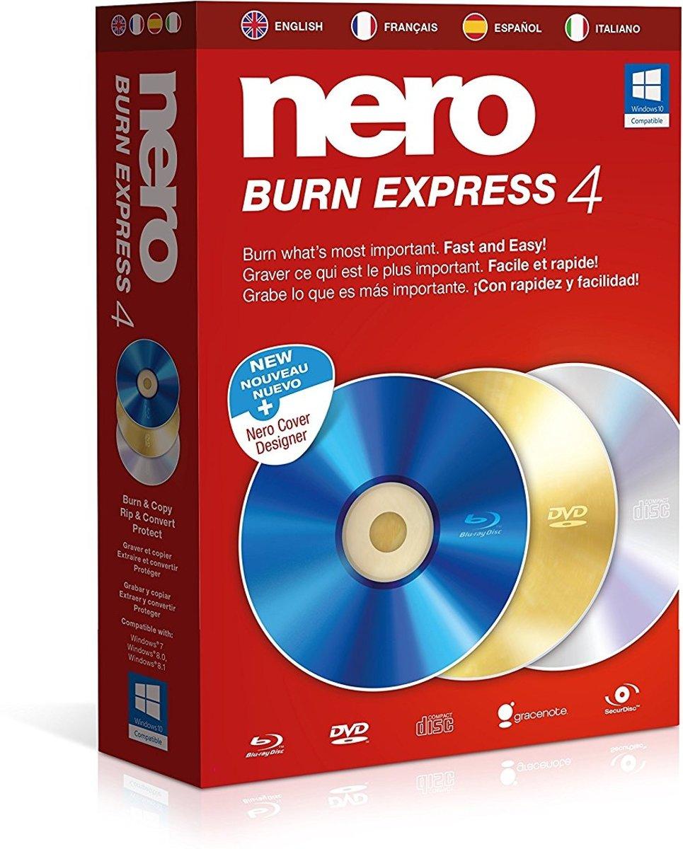 Nero Burn Express 4 - Engels / Frans / Spaans / Italiaans - Windows