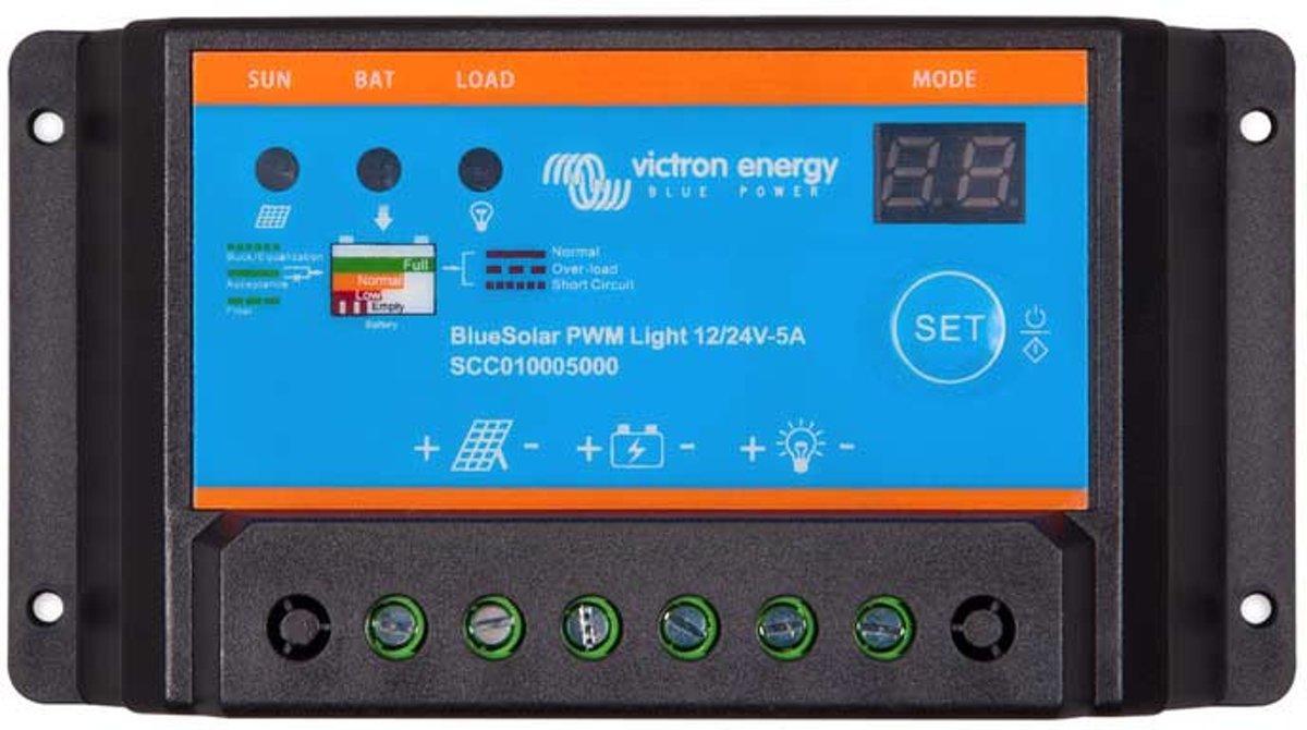 BlueSolar PWM-Light Charge Controller 12/24V-10A