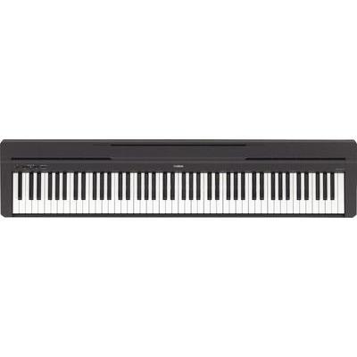 Yamaha P-45B Digitale piano Zwart Incl. netvoeding
