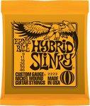 Ernie Ball 2222 Hybrid Slinky 009 - 046 snarenset