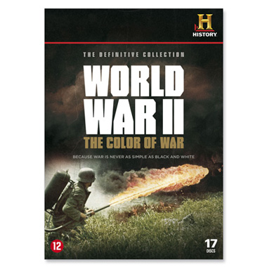 World War II - The Color Of War (17DVD)