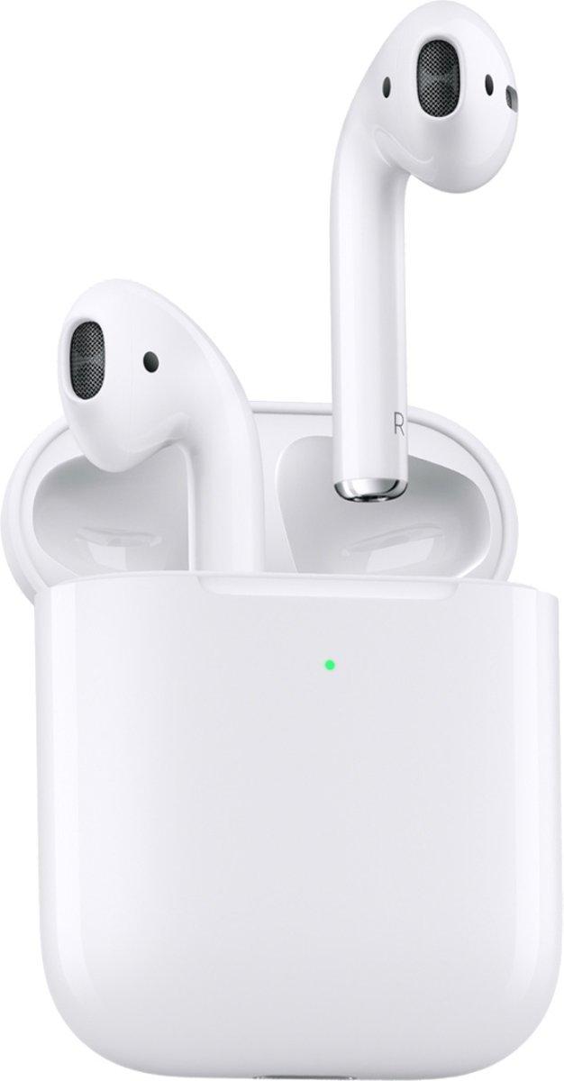 Apple AirPods 2 - met draadloze oplaadcase - Wit